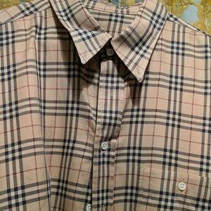 XL Burberry Flannel shirt